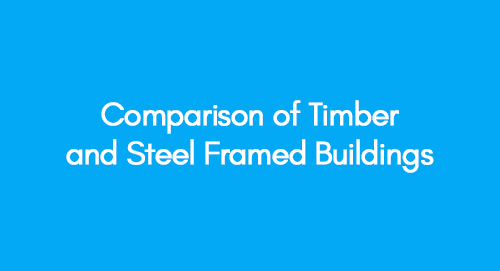 Comparison of Timber and Steel Framed Buildings